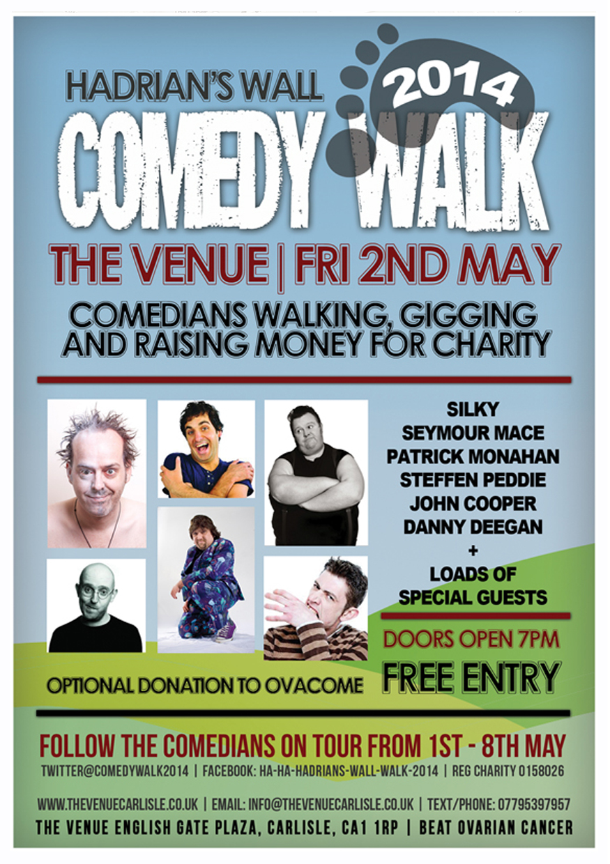 The Venue - Comedy Walk Poster