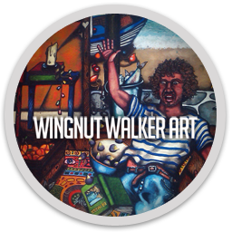 Wingnut Walker Art