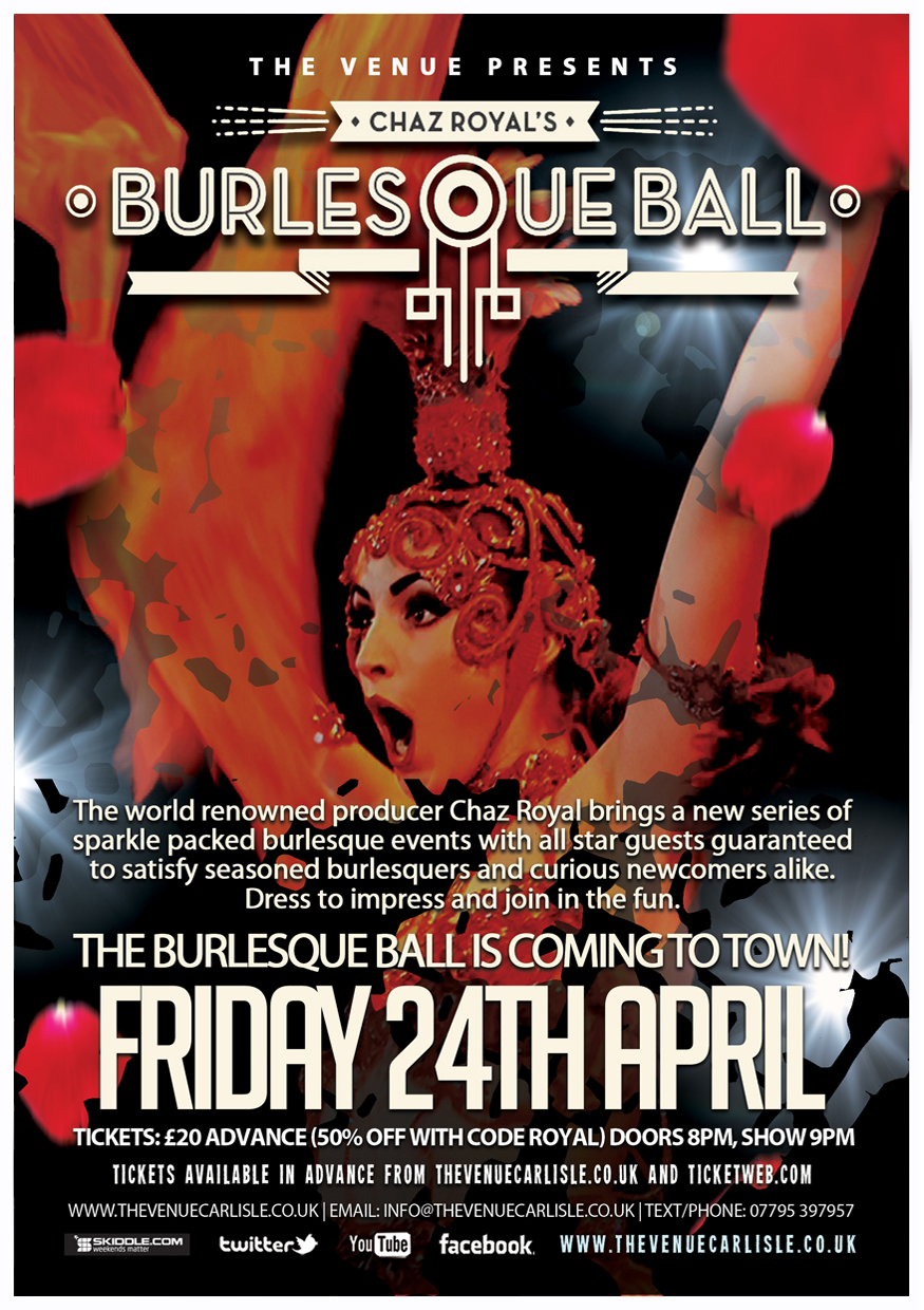 The Venue - Burlesque Poster