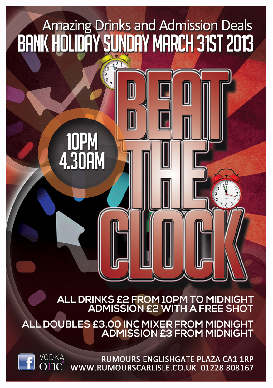 Rumours - Beat the Clock Poster