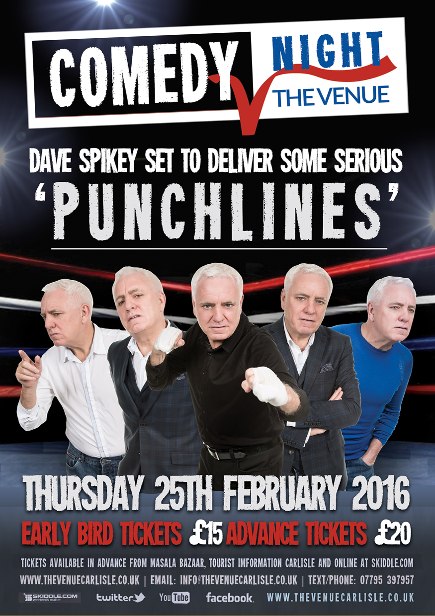 The Venue - Dave Spikey - Punchlines Tour