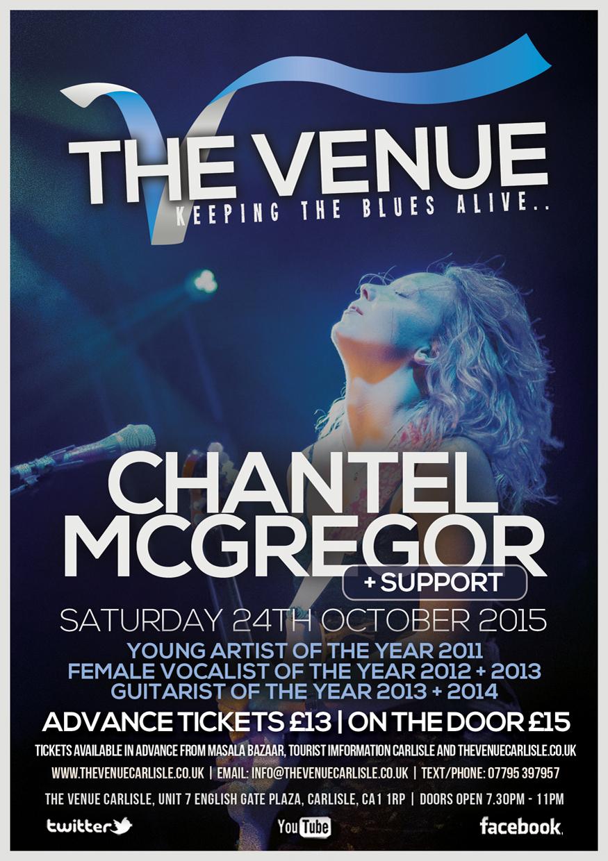 The Venue - Chantel Mcgregor