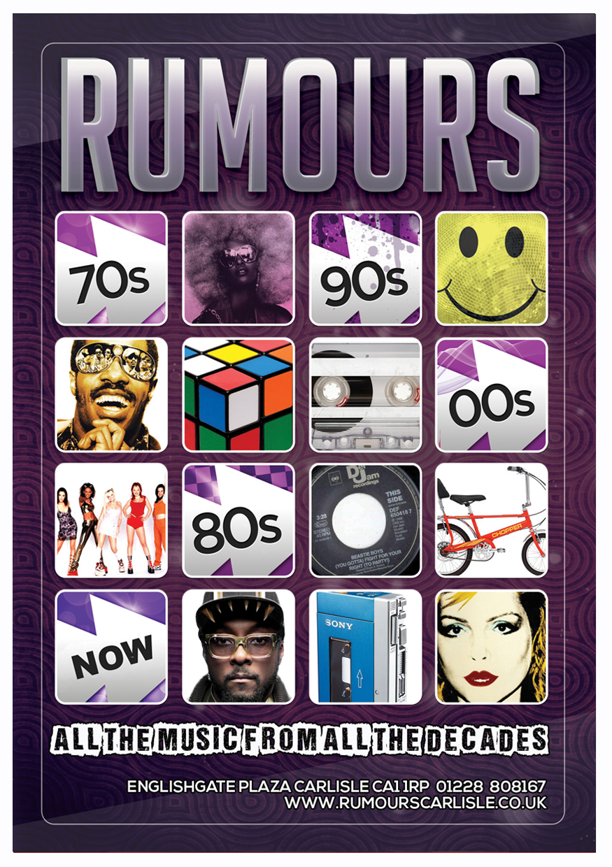 Rumours - Available for Hire Poster