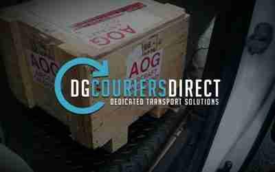 DG Couriers – New Website now Live!